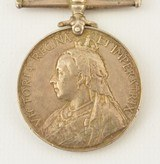 Boer War South Africa Medal and Clasps of Pvt. W. Cooke, KRRC - 3 of 7