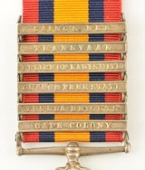 Boer War South Africa Medal and Clasps of Pvt. W. Cooke, KRRC - 4 of 7