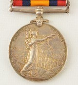 Boer War South Africa Medal and Clasps of Pvt. W. Cooke, KRRC - 5 of 7