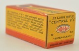 CIL Central V's 22 LR 1937 Second Variation Box - 3 of 6