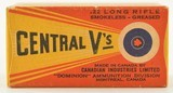 CIL Central V's 22 LR 1937 Second Variation Box - 1 of 6