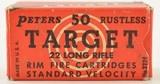 Peters Target Ammo Rustless 22 LR - 1 of 5