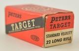 Peters Target Ammo Rustless 22 LR - 2 of 5