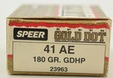 Speer 41 Action Express Ammo 20 Rounds - 2 of 3