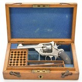 Webley Mk. III .38 1st Pattern Cased and Engraved Revolver