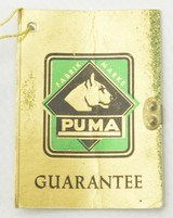 Rare 970 Puma Planter Knife Excellent With label & Original Tags - 10 of 11