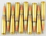 10 Rounds 50 BMG Hornady 750 GR A-MAX Match Ammo