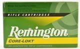 Full Box Remington 6.5 x 55 Swedish 140 Gr Core-Lokt Bullet Ammo