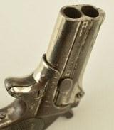 Engraved Belgian Copy of a Remington-Elliot O/U Derringer - 9 of 11