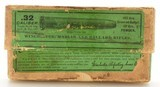 """2 Piece Winchester 32-40 Green Label Box """"7-9""""Date Code - 1 of 7"""