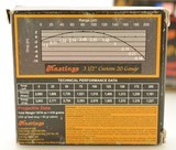 "Scarce Hastings 3 ½"" 20 Gauge Super Magnum Sabot Slugs Ammo - 3 of 5"