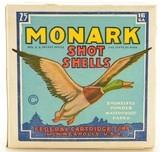 "Monark Mallard Shot Shells 16 GA 2 1/2"" #8 Shot Ammo Excellent"