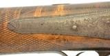 English Big Bore Percussion Sporting RifleBrunswick rifled by Harvey - 6 of 15