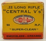 CIL Central V's 22 LR 1937 Box - 4 of 7