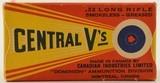 CIL Central V's 22 LR 1937 Box - 1 of 7