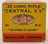 CIL Central V's 22 LR 1937 Box - 2 of 7