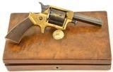 Cased Tranter No. 2 Seven-Shot Sheath-Trigger Revolver (Liverpool Reta