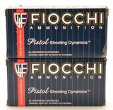 Fiocchi 40 S&W Ammo 165 GR TCEB 100 Rounds