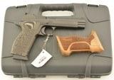 Sig Sauer P210 A-9 Target Pistol 9mm LNIB Custom Armory Craft Grips
