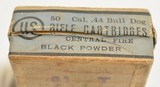 Rare Full Box 44 Bull Dog US Cartridge Lowell, Mass Ammo - 5 of 7