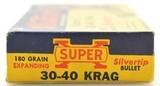 "Western ""Grizzley"" Box 30-40 Krag 180 GR Silvertip Ammo - 2 of 7"