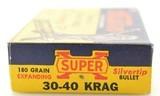"Western ""Grizzley"" Box 30-40 Krag 180 GR Silvertip Ammo - 4 of 7"