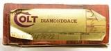 """Colt .22 Diamondback Revolver 6"""" w/ Original Box and Paper - 19 of 23"""