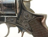 Engraved & Published Webley RIC Pre No. 1 Revolver by EM Reilly - 7 of 15