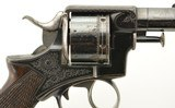 Engraved & Published Webley RIC Pre No. 1 Revolver by EM Reilly - 3 of 15