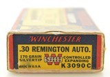 Winchester Grizzley Bear Box 30 Remington Ammo 170 GR Super Speed - 4 of 7