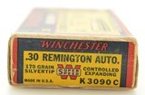 Winchester Grizzley Bear Box 30 Remington Ammo 170 GR Super Speed - 2 of 7