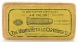 Scarce UMC 44-40 Ammunition Box 217 Grain Bullet Full Box Winchester