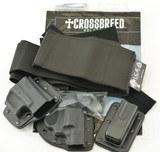 Crossbreed Modular Belly Band Holster Set Revolver + Glock - 1 of 5