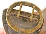 Unique 19th Century German Money Belt W/ Provenance Marion Ohio 1830 - 14 of 15