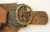 Unique 19th Century German Money Belt W/ Provenance Marion Ohio 1830 - 6 of 15