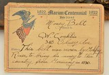 Unique 19th Century German Money Belt W/ Provenance Marion Ohio 1830 - 3 of 15