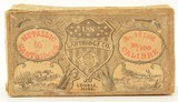 US Cartridge Co. 38 Long Rim Fire .38 RF Box Woodcut Label Ammo