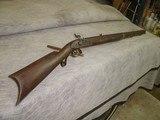 Hawken style 50 cal walnut rifle