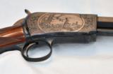 Winchester 1890 Deluxe #8 engraved by Angelo Bee - 9 of 11