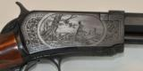 Winchester 1890 Deluxe #8 engraved by Angelo Bee - 1 of 11