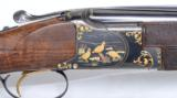 Browning 20 gauge Superposed profusely engraved by Angelo Bee