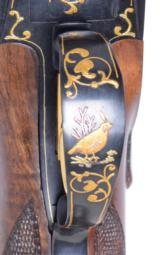 Browning 20 gauge Superposed profusely engraved by Angelo Bee - 10 of 12
