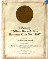 Purdey Island lock Hammer Gun 12 gauge...EXQUISITE! - 23 of 23