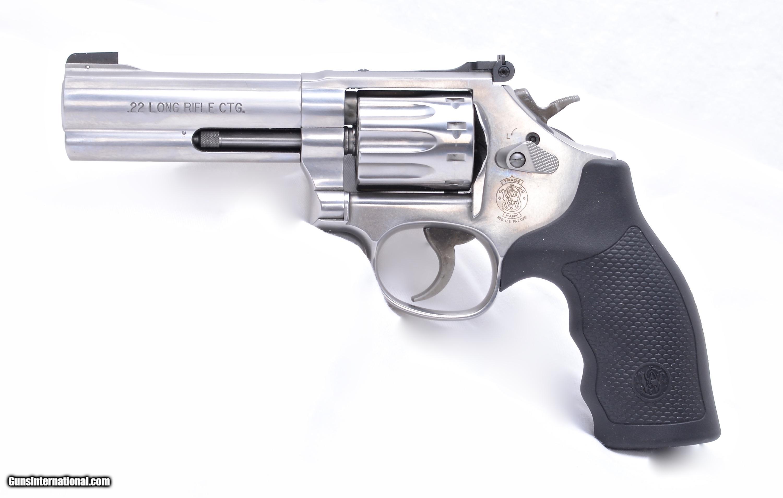 """... S&W 617-6 10 shot revolver 4"""" - 2 ..."""