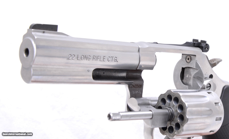 """... S&W 617-6 10 shot revolver 4"""" - 4 ..."""