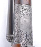 David McKay Brown Renaissance Scoll grade 12 gauge SxS - 9 of 24