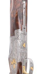 Browning Presentation P4W all gauge skeet set with factory gold inlays - 14 of 18