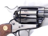 Colt SAA .45lc Third Gen, all blue, NIB - 4 of 11