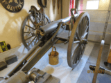 Live 1898 Cannon; US Army 3.2 inch bag gun C&R