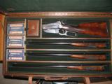 Winchester 1895 Deluxe, Original Three Barrel Set - 1 of 12